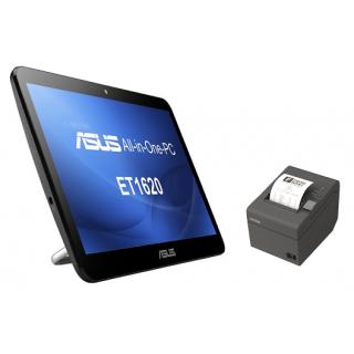 Pack Asus 1620 : Caisse enregistreuse tactile design et puissant