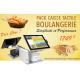 Pack Caisse Enregistreuse Tactile Boulangerie Sango Aures