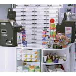 caisse automatique sécurisée pharmacie parapharmacie