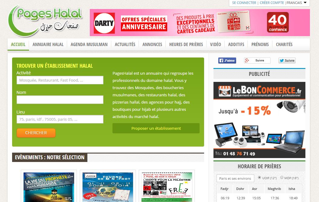 leboncommerce.fr est sur l'annuaire halal en France - PagesHalal.fr