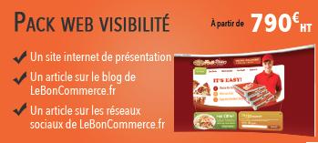 Pack visibilité web communication web leboncommerce