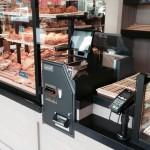 caisse avec monnayeur automatique à la boulangerie caisse automatique boulangerie