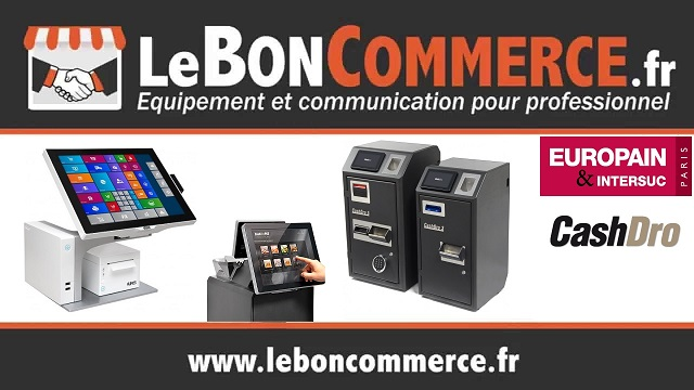 salon europain cashdro safevalley leboncommerce caisse automatique