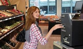 caisse automatique sécurisée cashdro primeur cours des halles fruits et légumes