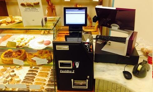 caisse automatique sécurisée pour boulangerie leboncommerce