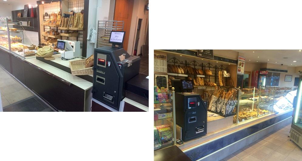 caisse avec monnayeur automatique pour boulangerie prix leboncommerce