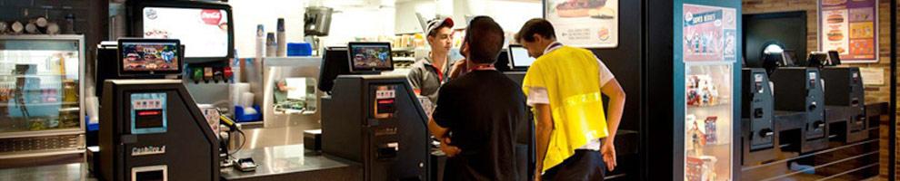 caisse automatique, caisse sécurisée pour fast-food - devis gratuit