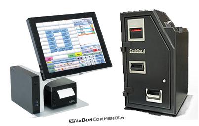 pack caisse automatique cashdro 4 caisse tactile logiciel de caisse leboncommerce.fr