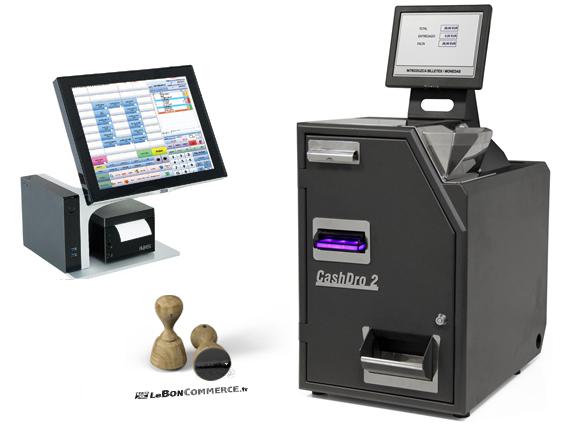 pack caisse automatique monnayeur caisse tactile logiciel de caisse leboncommerce.fr