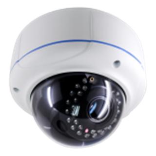 Dôme de surveillance IP 1 mégapixels 30m