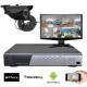 Kit vidéosurveillance 1 caméra CMOS 600 lignes