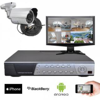 Kit vidéosurveillance Sony 1 caméra HD 700 lignes