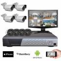 Kit vidéosurveillance Sony 4 caméras HD 700 lignes