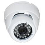 Dôme de surveillance IR AHD 720P 1MP 24 leds 20m Blanc leboncommerce.fr