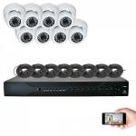 Kit vidéosurveillance 8 caméras AHD 720P 1MP 20m leboncommerce.fr